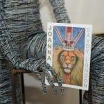 19 Rachel Ducker's wire sculpture and Joanna's Savoy Invite