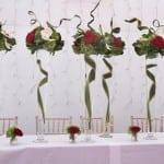 18 The beautiful flower arrangements