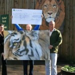 19 The £2,000 given out of the proceeds of the exhibition to the charity TUSK