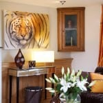 6 Seize the Fire based on Chris Packhams girlfriend Charlotte Corney's tiger 'Zia' also sold as prints
