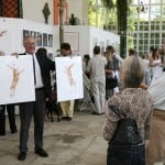 7 As the exhibition builds in numbers and prints and originals sell