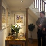 12 Clients enjoying hare prints in the house