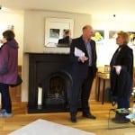 19 Margaret Rose the Mayor of Marlborough and clients enjoying the exhibition.