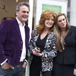 2 With Rula Lenska the Actress  and Paul Martin from BBC's Flog It