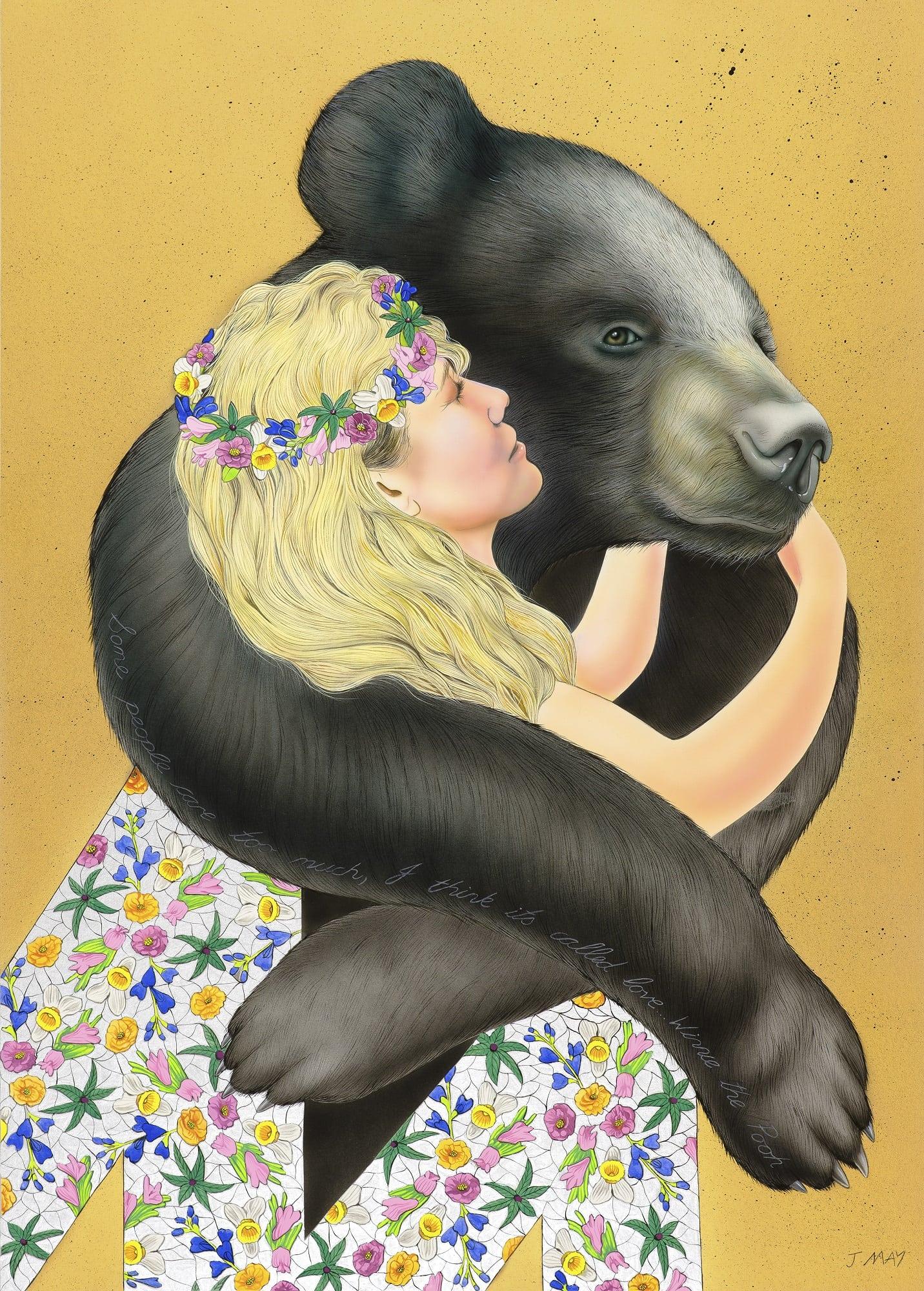 Joanna May Moon Bear I think it's called love