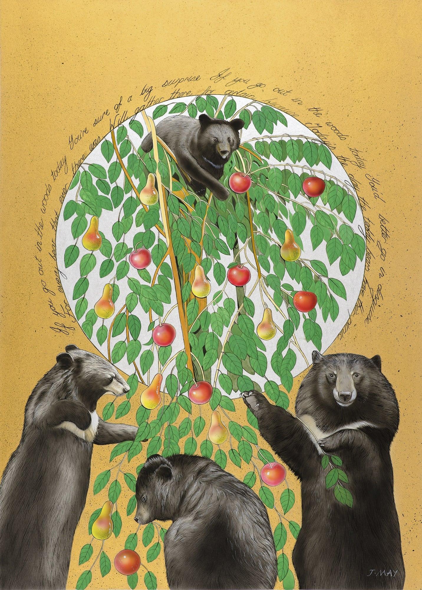 Joanna May Moon Bear Teddy Bears Picnic