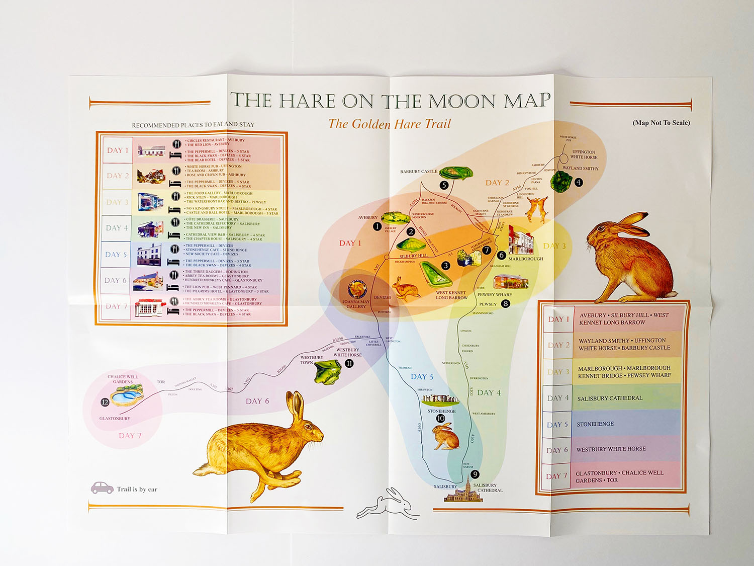 Hare on the Moon Map