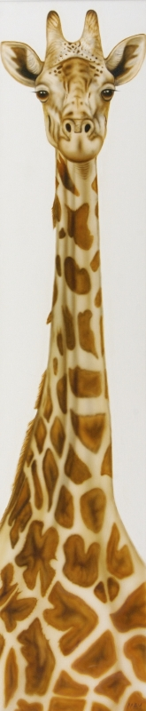 Totem Pole Mother Giraffe