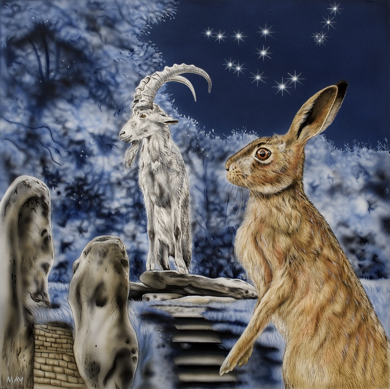 Capricorn Hare  ~  22 Dec-19 Jan