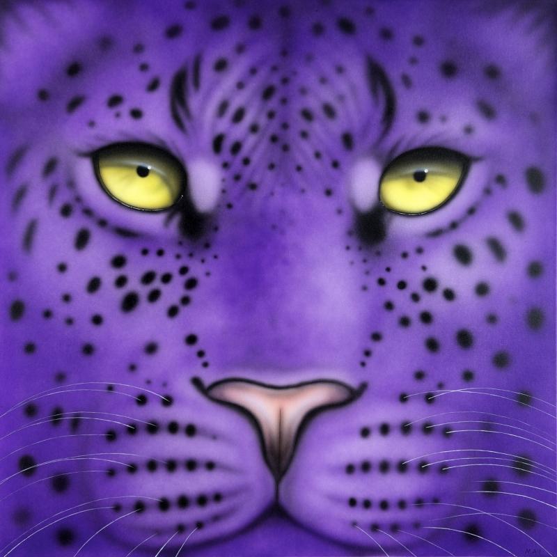 Leopard - Purple